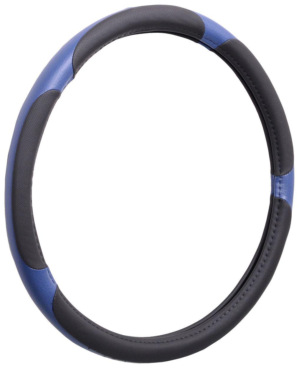 Potah volantu GRIP LARGE 42cm modrý