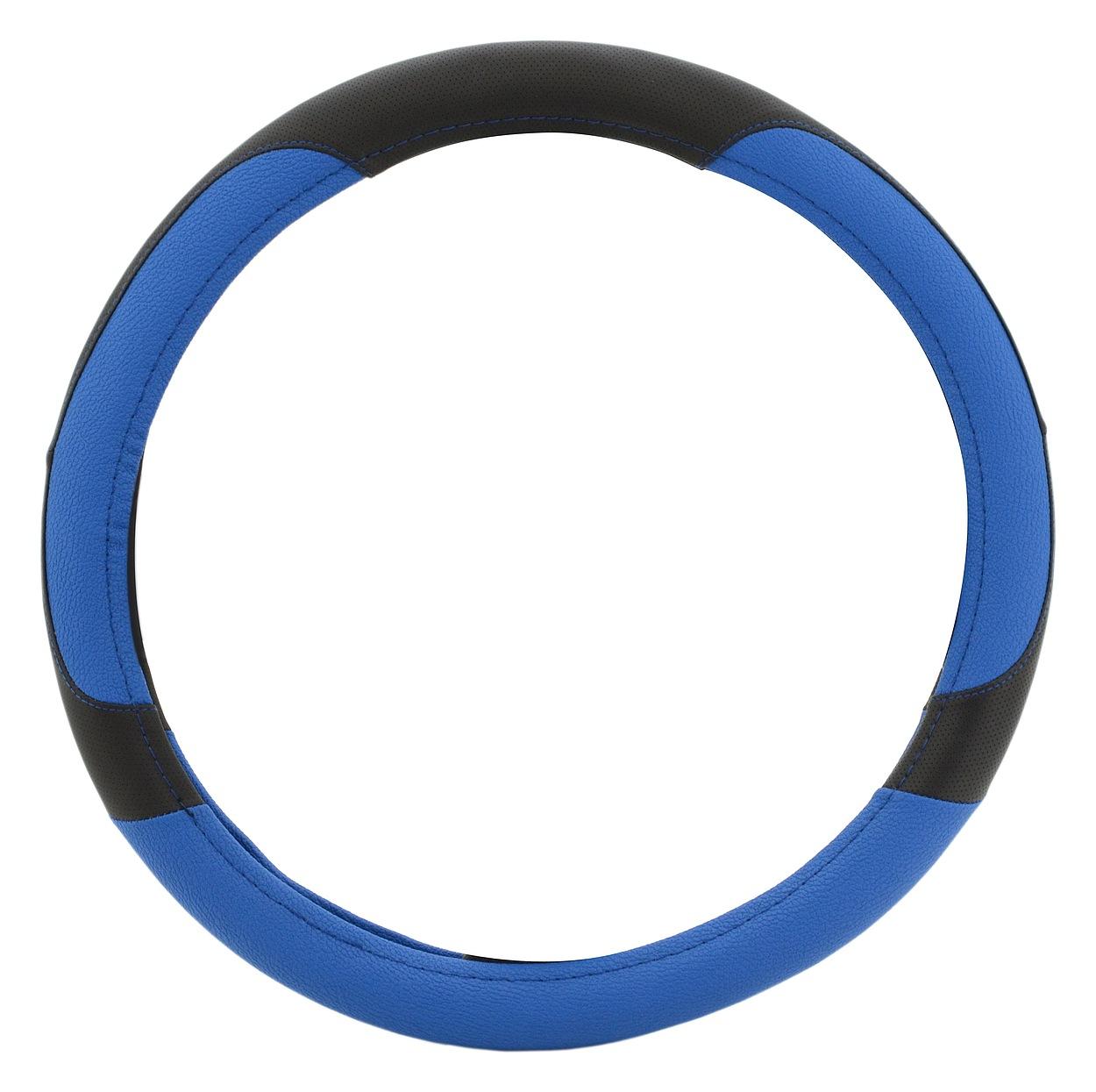 Potah volantu COLOR LINE modrý