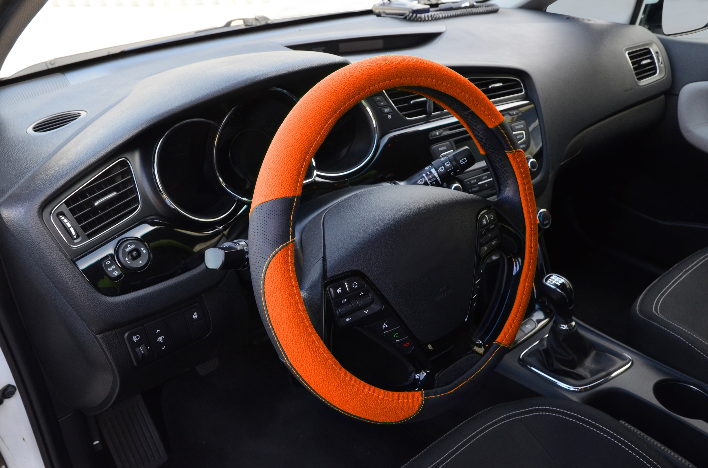 Potah volantu COLOR LINE oranžový