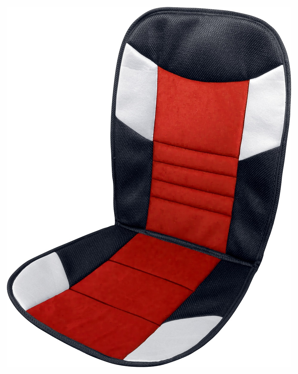 Potah sedadla TETRIS černo-červený