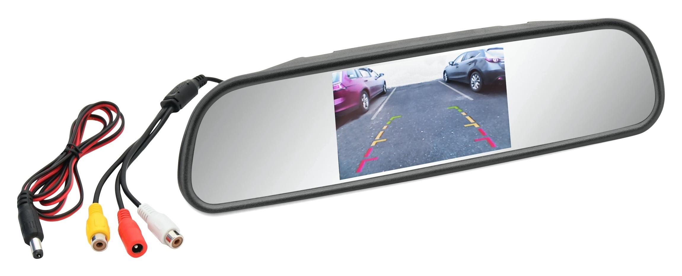 LCD display/zrcátko na zpětné zrcátko