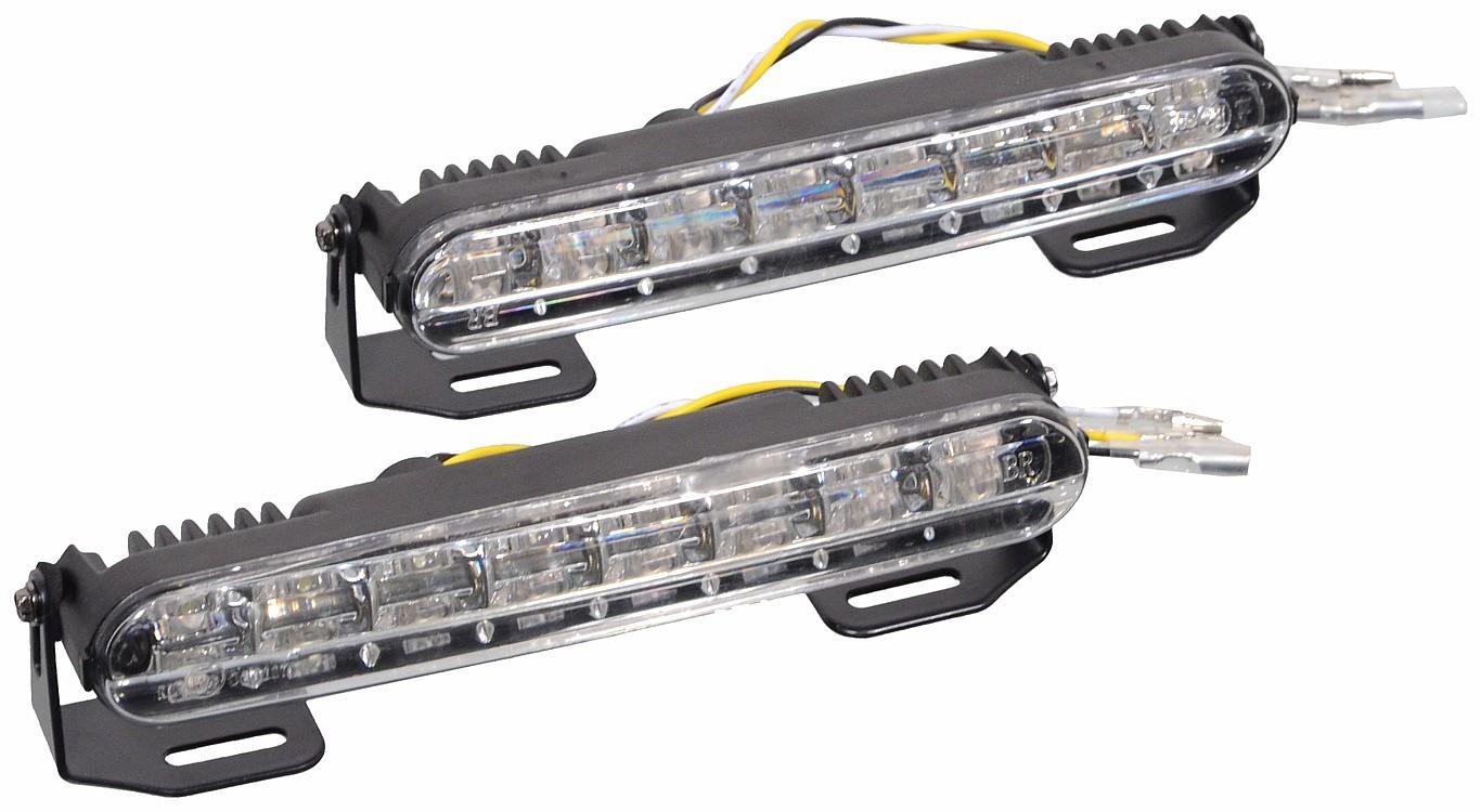 Světla denního svícení RL hom. 16LED on/off systém