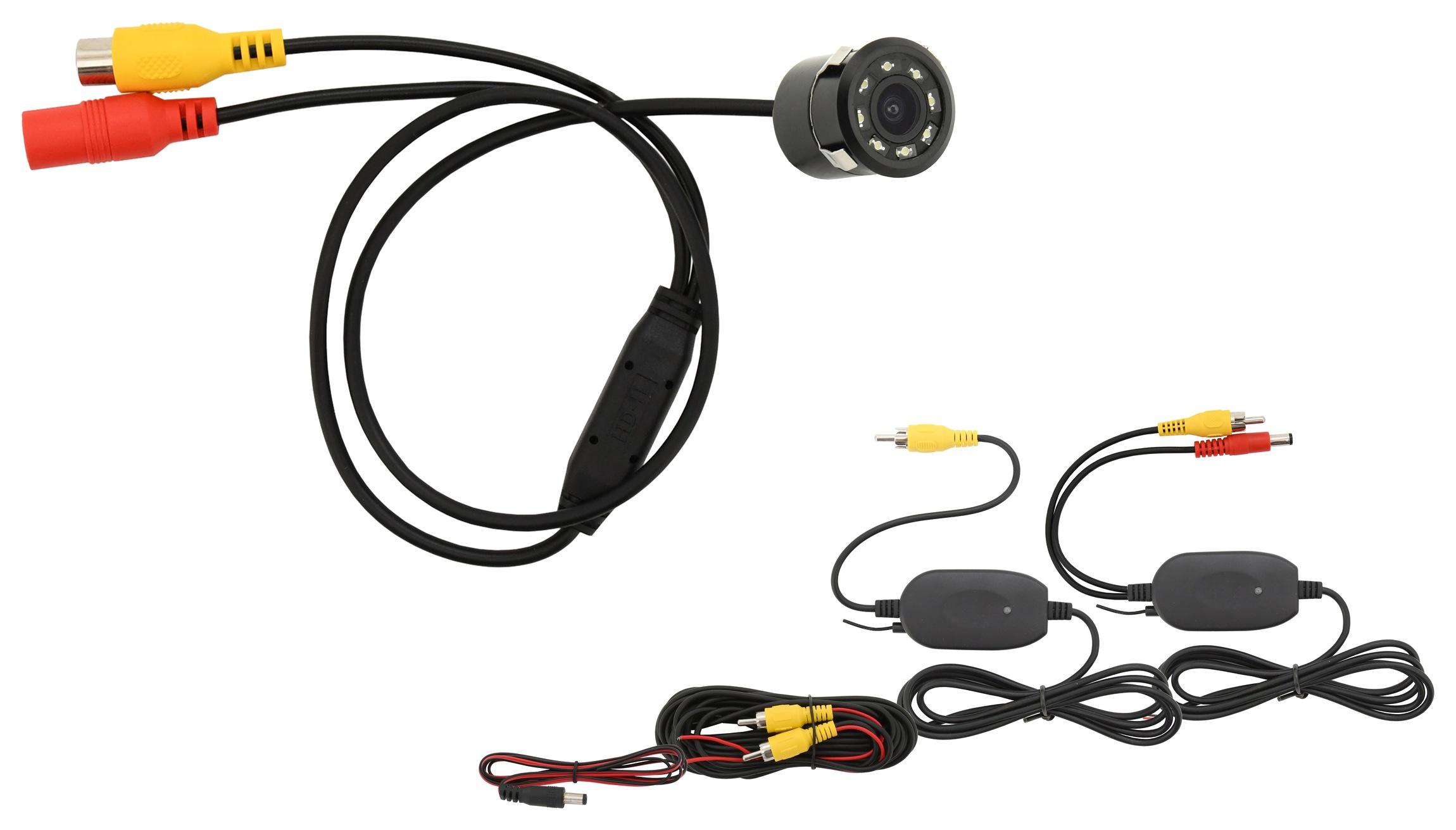 Parkovací kamera INSERT bezdrátová s LED přísvitem