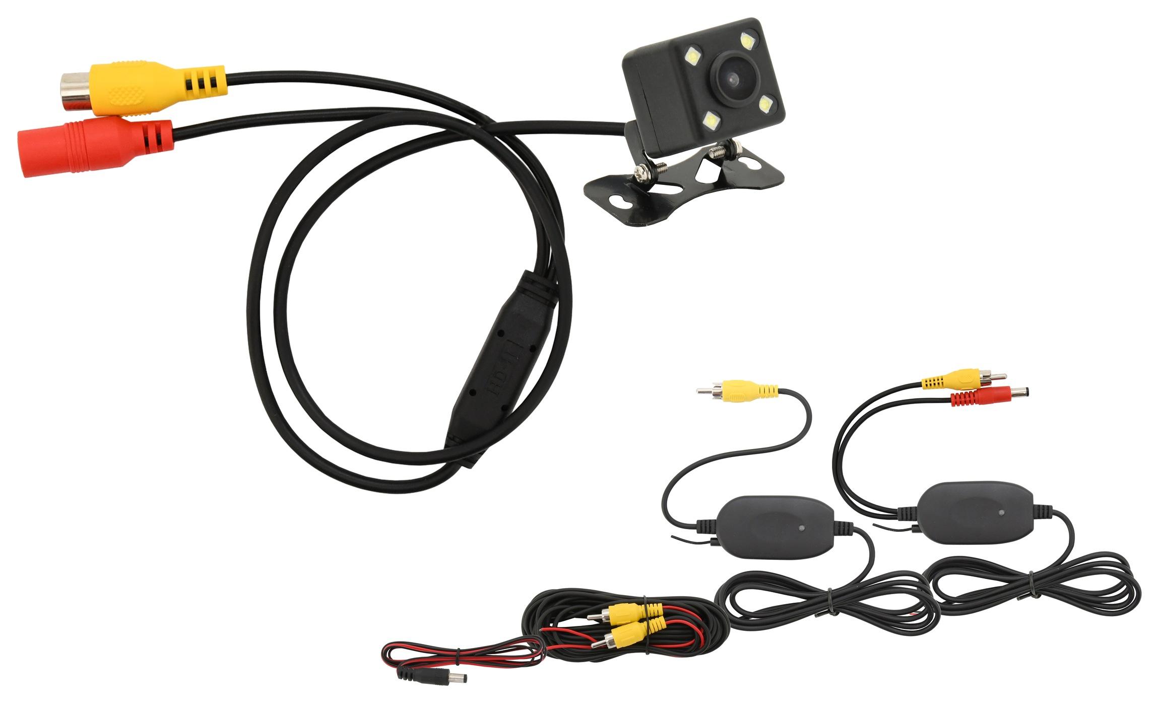 Parkovací kamera DICE bezdrátová polohovací s LED přísvitem