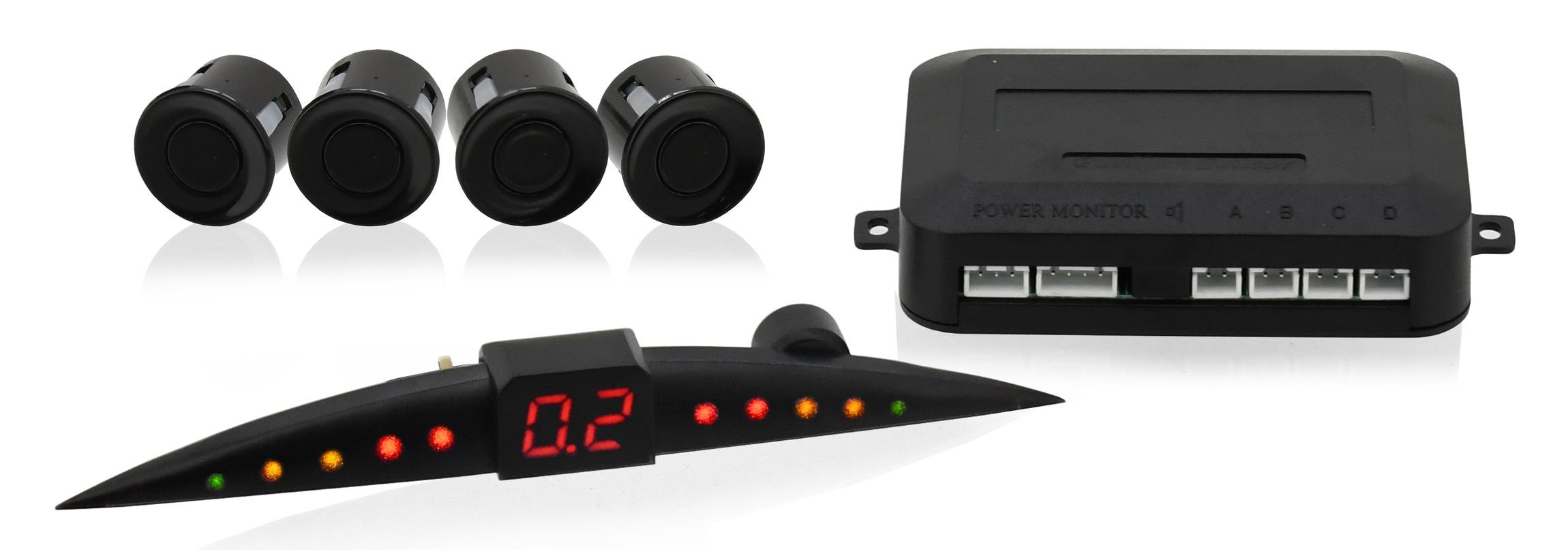 Compass 33602 Parkovací asistent 4 senzory, LED display