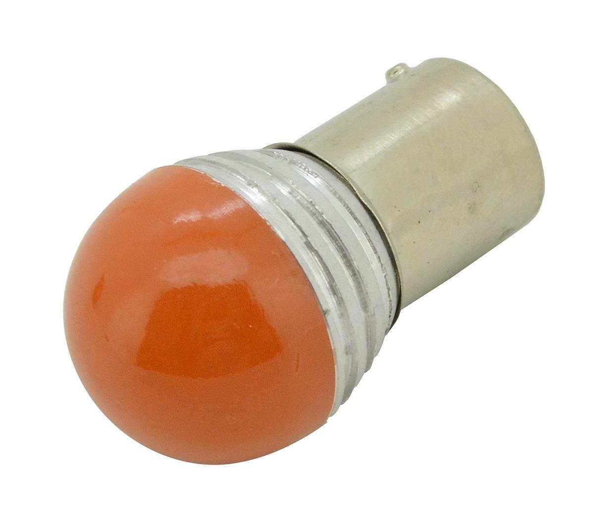 Žárovka 9 SMD LED 1chip 12V BaU15s CAN-BUS ready oranžová 1ks