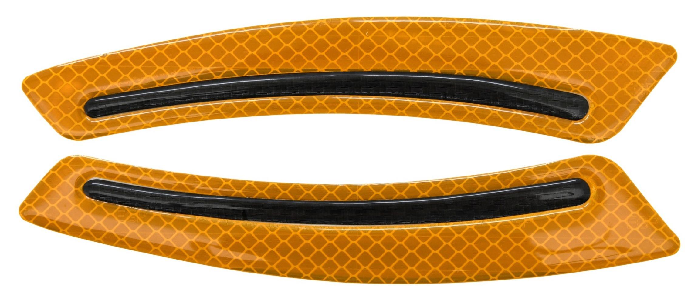 Chránič dveří samolepící SWORD žlutý 2ks