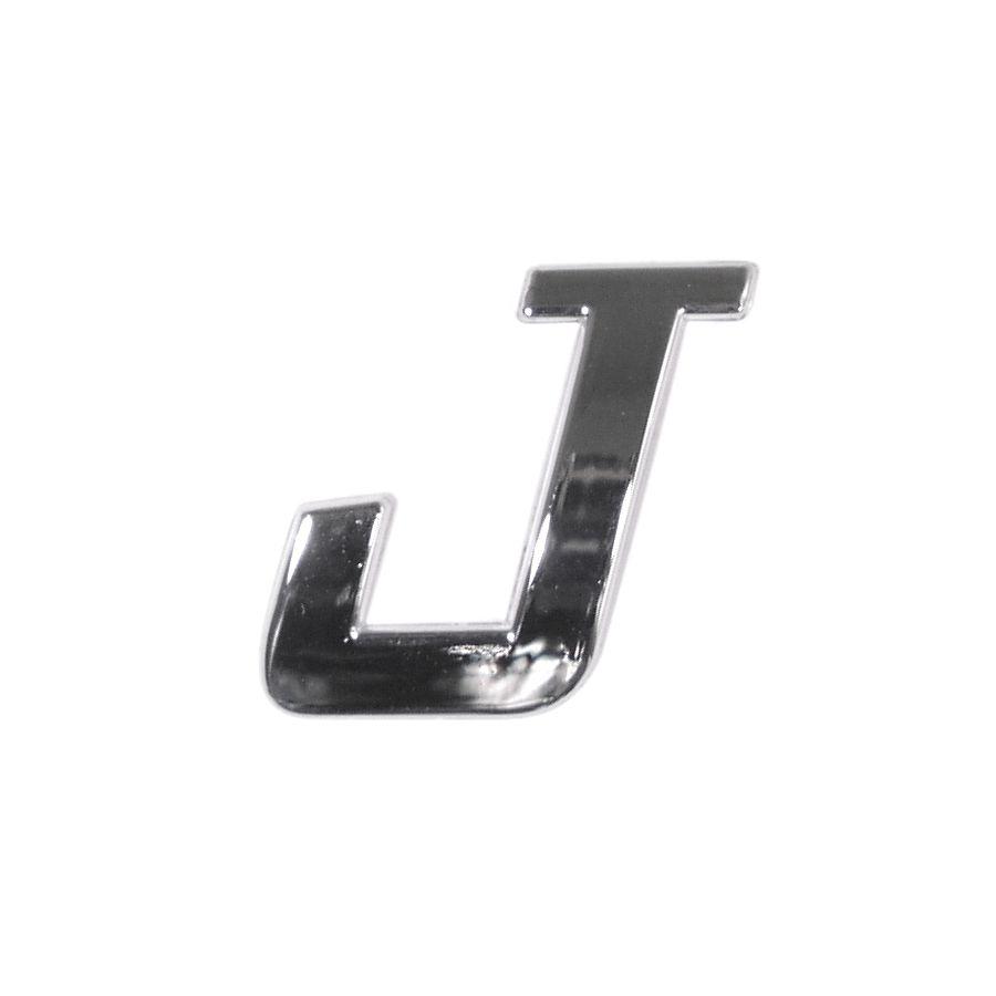 Znak J samolepící PLASTIC
