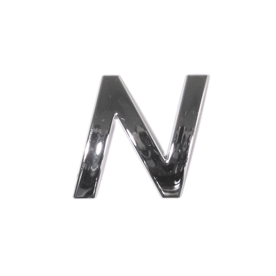 Znak N samolepící PLASTIC