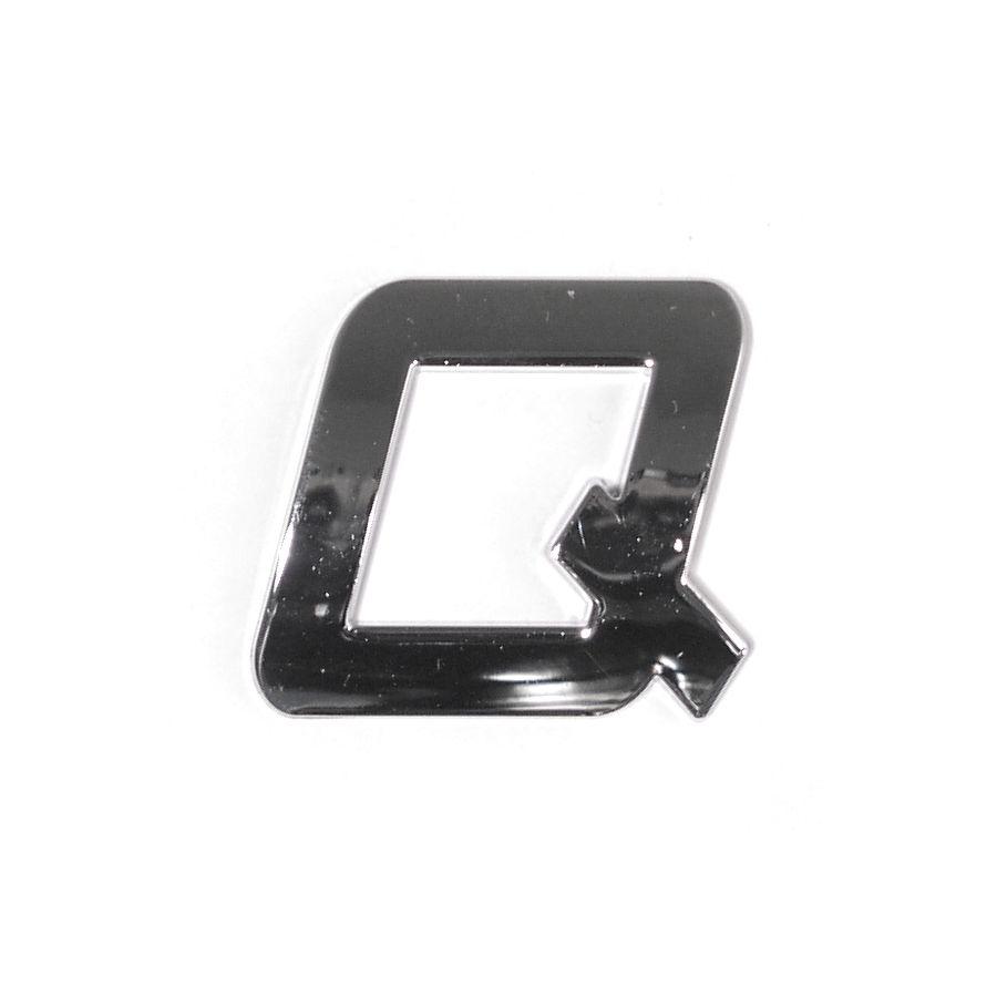 Znak Q samolepící PLASTIC