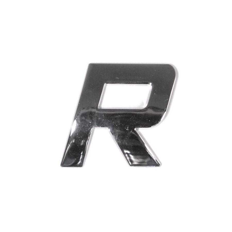 Znak R samolepící PLASTIC