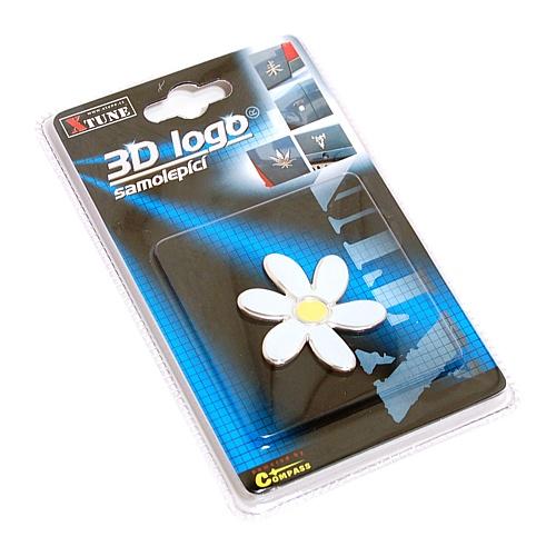 Znak SMALL FLOWER samolepící PLASTIC