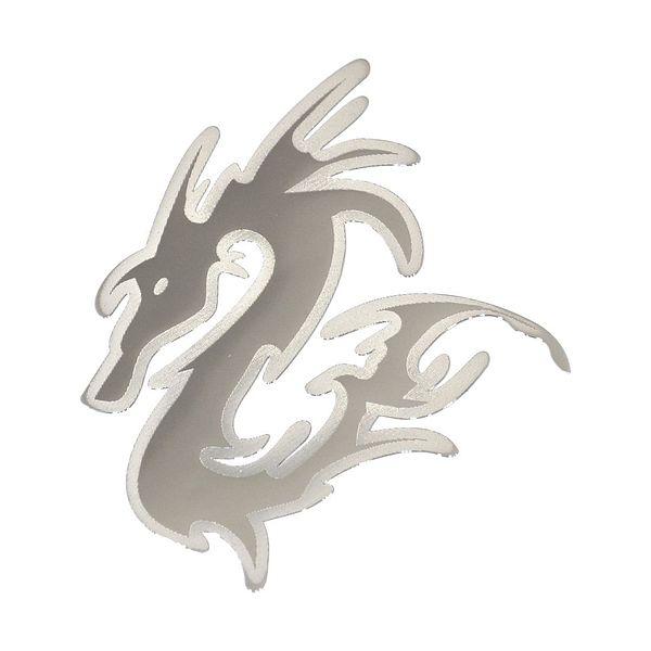 Znak BIG DRAGON samolepící METAL velký