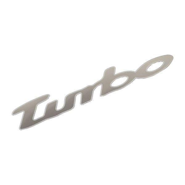 Znak TURBO samolepící METAL velký