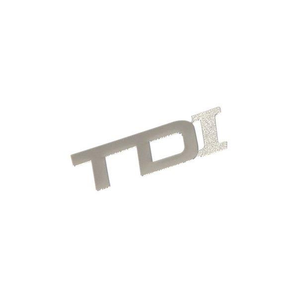 Znak TDI samolepící METAL malý