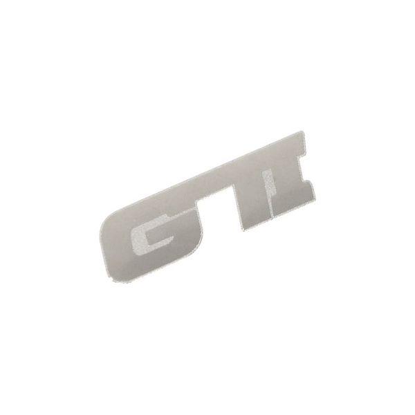 Znak GTI samolepící METAL malý