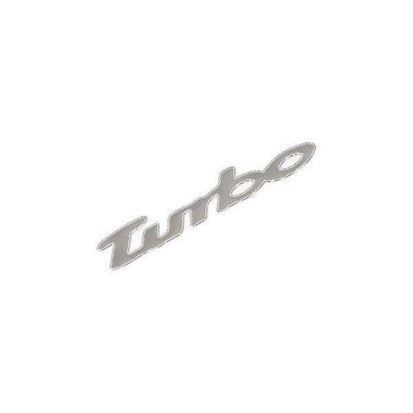 Znak TURBO samolepící METAL malý