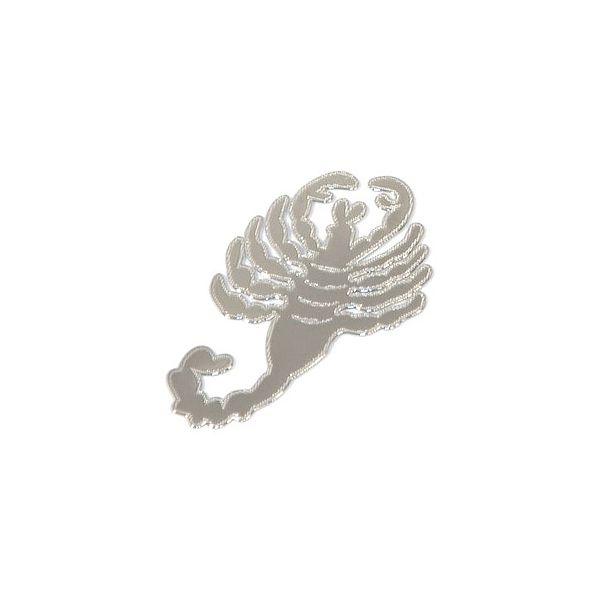 Znak SCORPION samolepící METAL malý