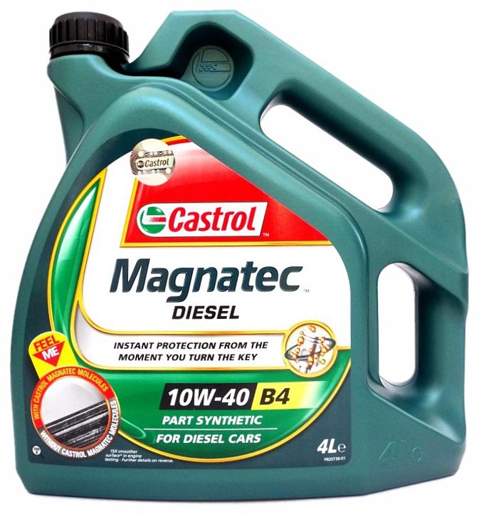 Olej motorový Castrol magnatec diesel 10W-40 4L B4