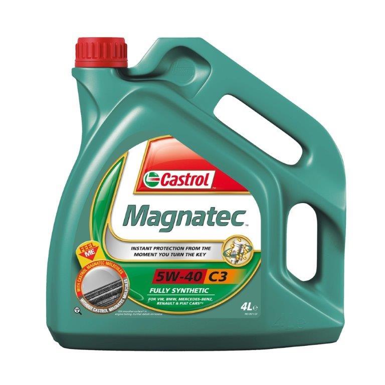 Olej motorový Castrol magnatec 5W-40 4L C3