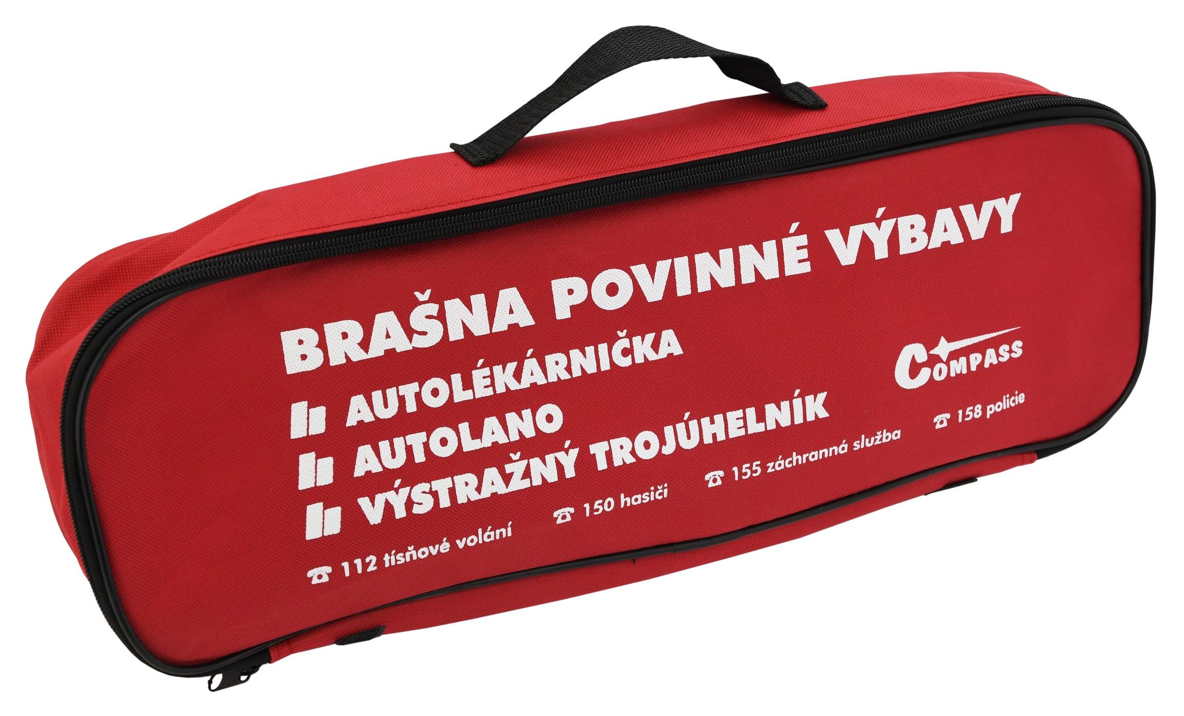 Brašna s povinnou výbavou 206/2018 sb. MD