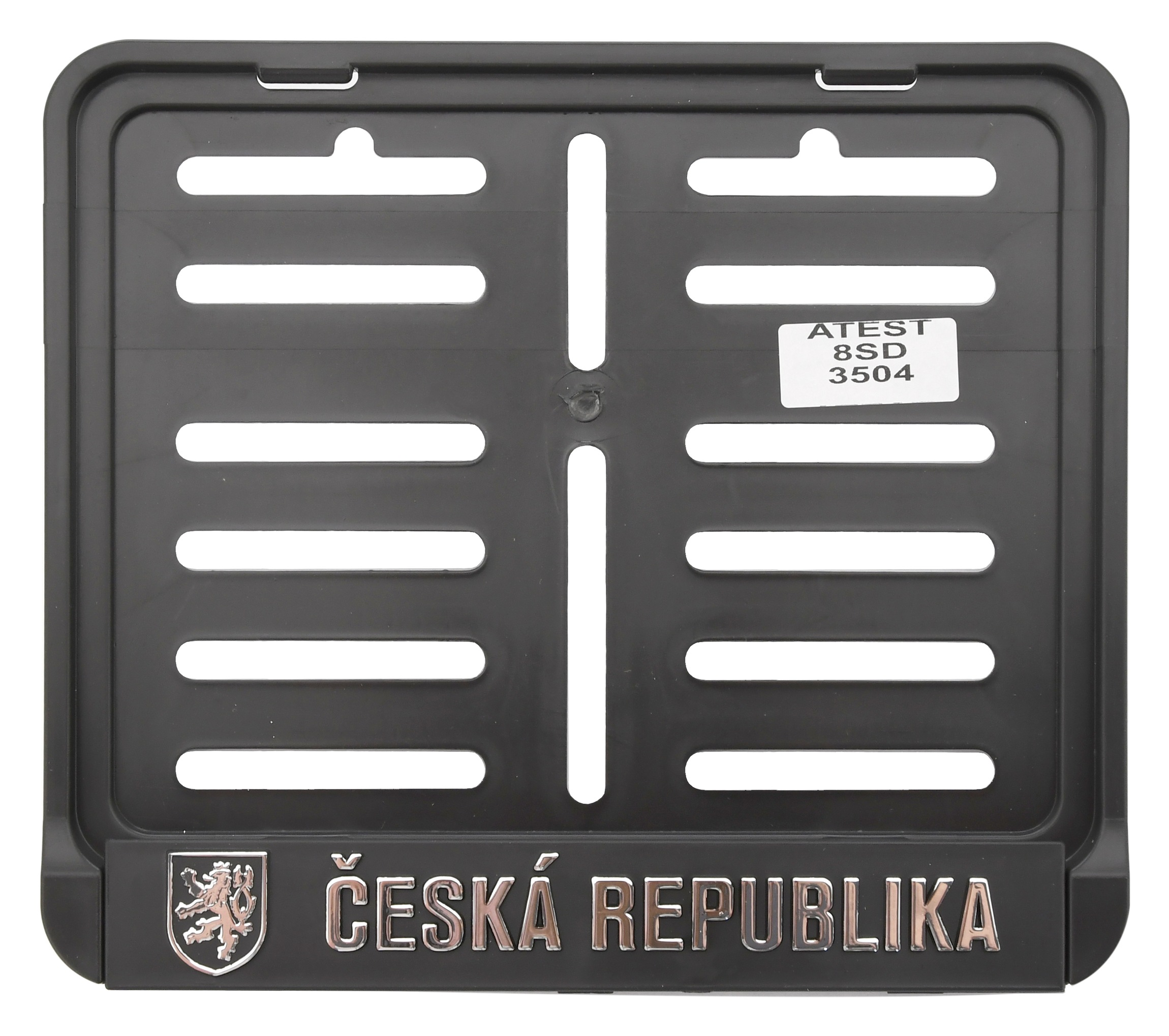 Podložka pod SPZ - moto ČR 3D