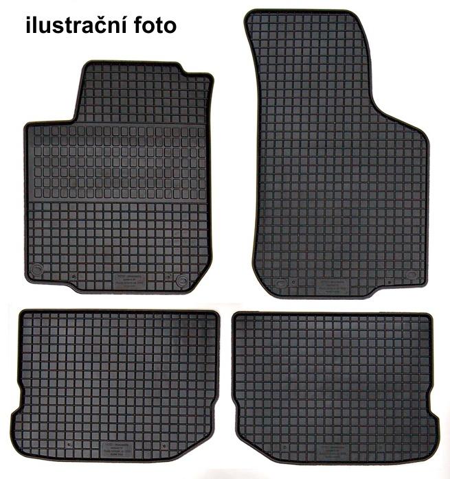 Koberce gumové přesné - Škoda Fabia I