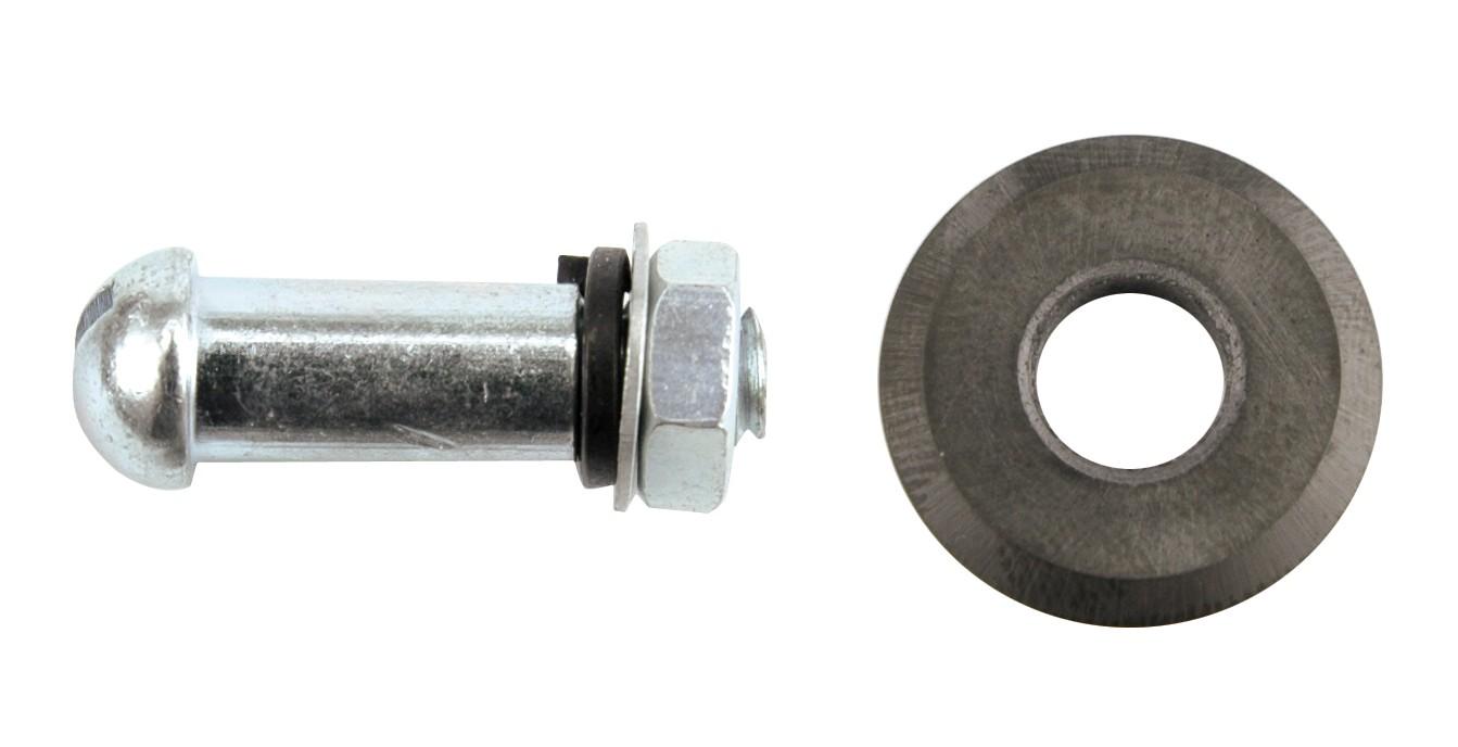 Kolečko výměnné se šroubem 15 x 6 x1,5 mm