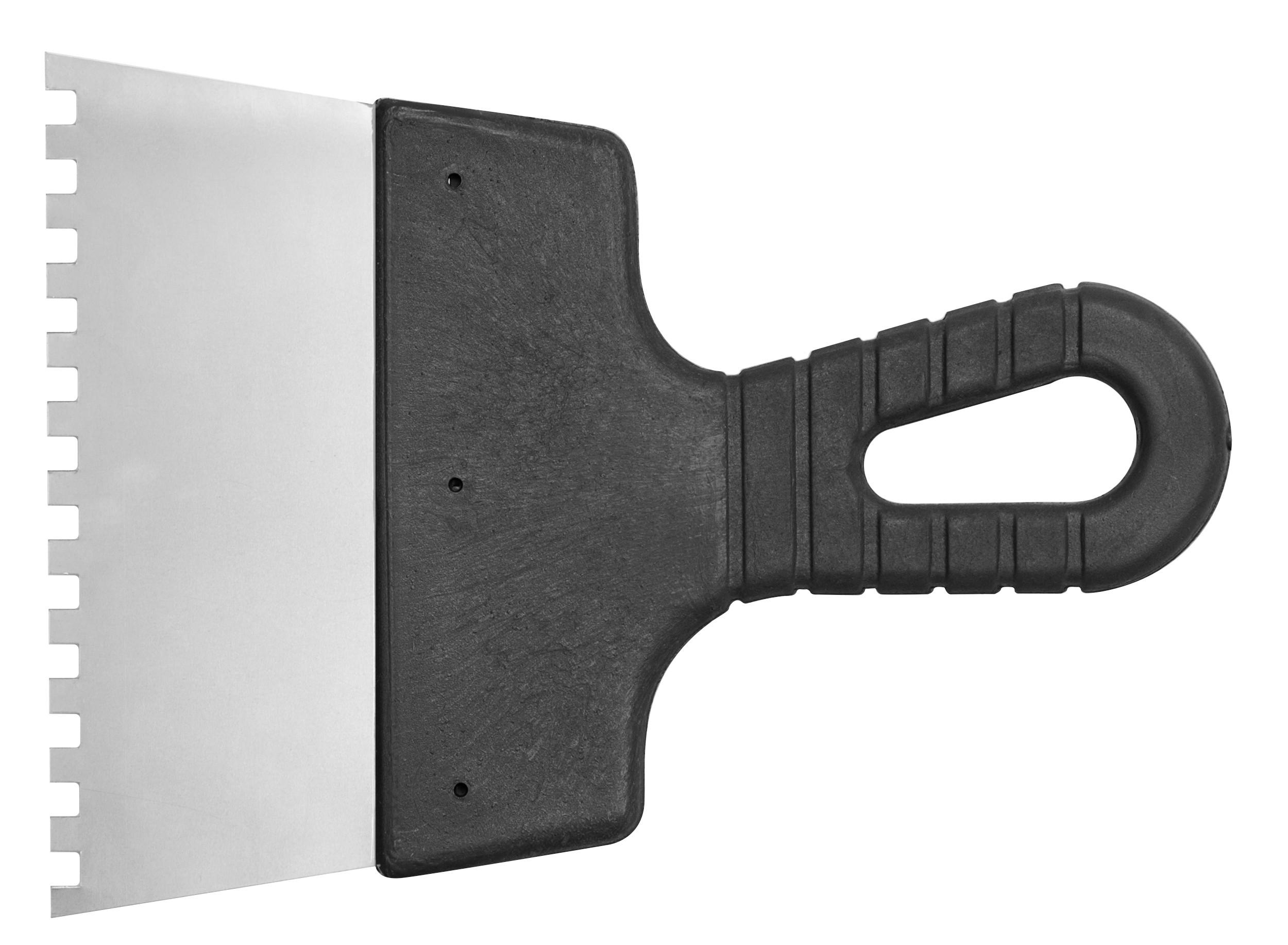 Špachtle 150 mm malířská nerez zuby 6 x 6 mm