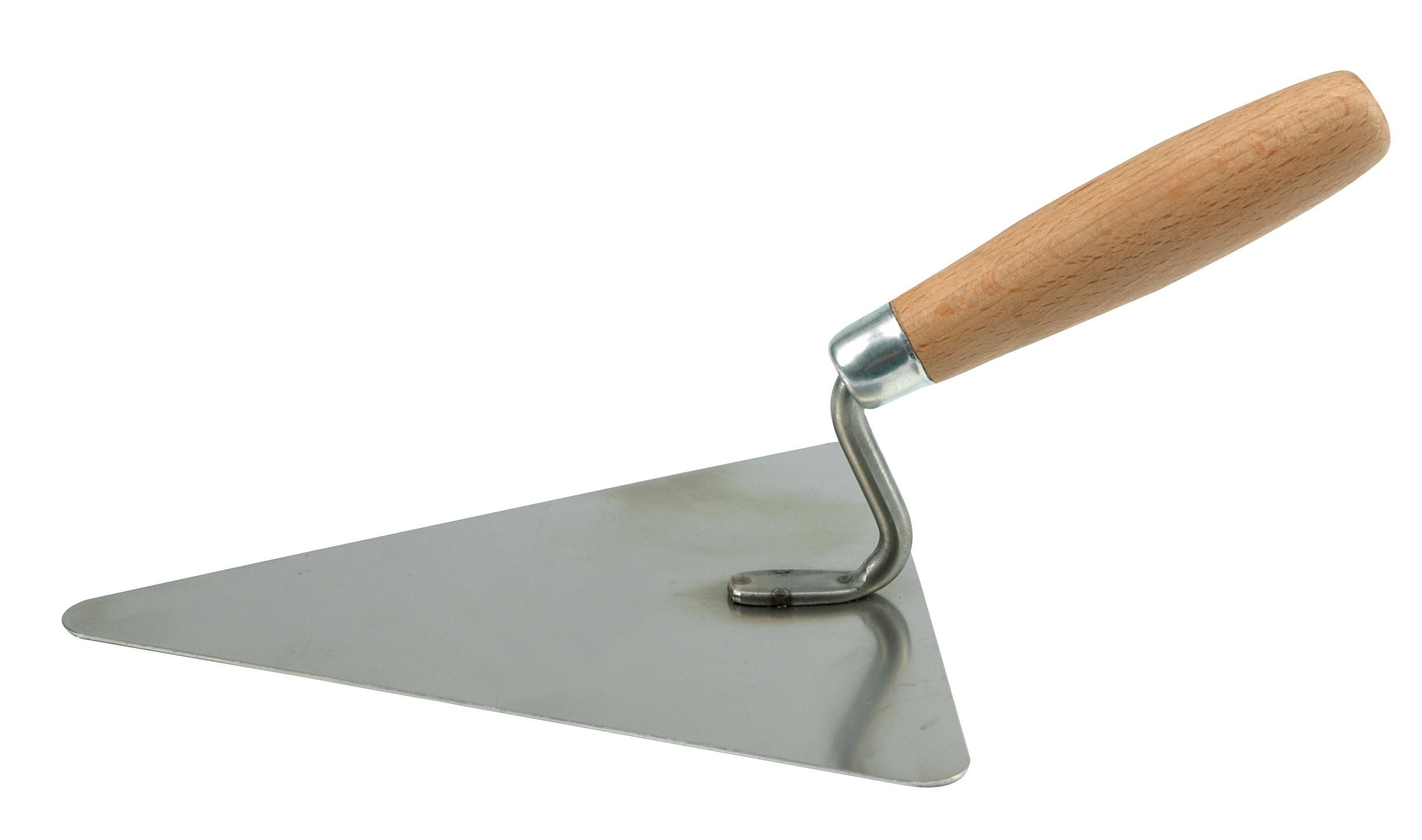 Lžíce zednická 180 mm trojúhelníková nerez