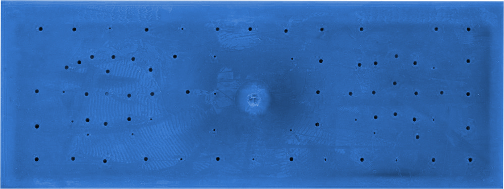 Hladítko 260 x 95 mm s gumou na spárování