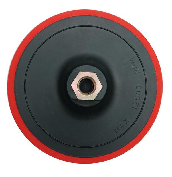 Talíř leštící/brousící M14 x 125 mm suchý zip