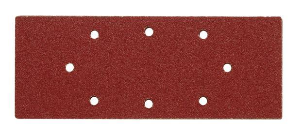 Brusný papír 240 x 93 mm P80 s otvory 5 ks
