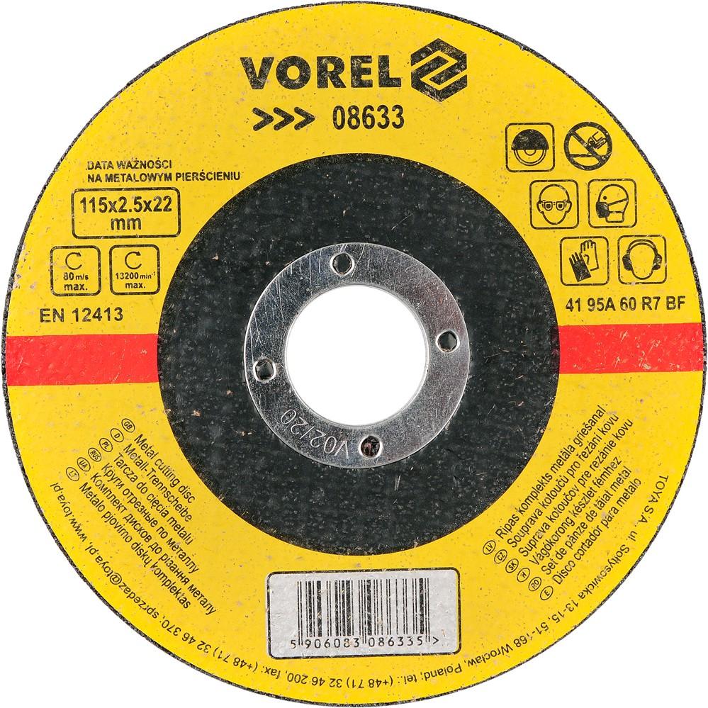 Kotouč na kov 115 x 22 x 2,5 mm