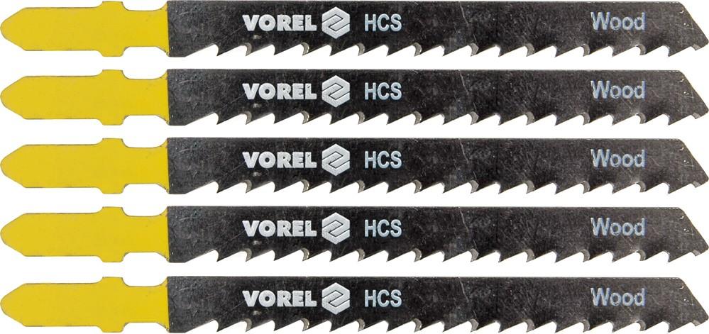 List do přímočaré pily 100 mm na dřevo, plast a dřevotříska TPI8 5 ks