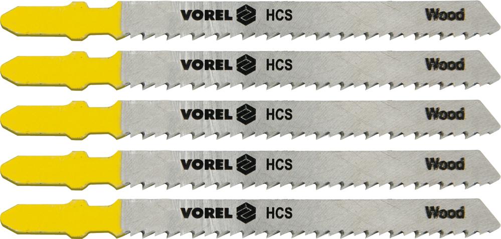 List do přímočaré pily 100 mm na dřevo, dřevotřísku TPI10 5 ks