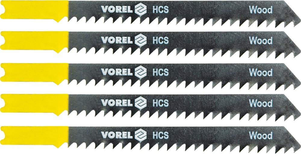 List do přímočaré pily 100 mm na dřevo TPI6 5 ks