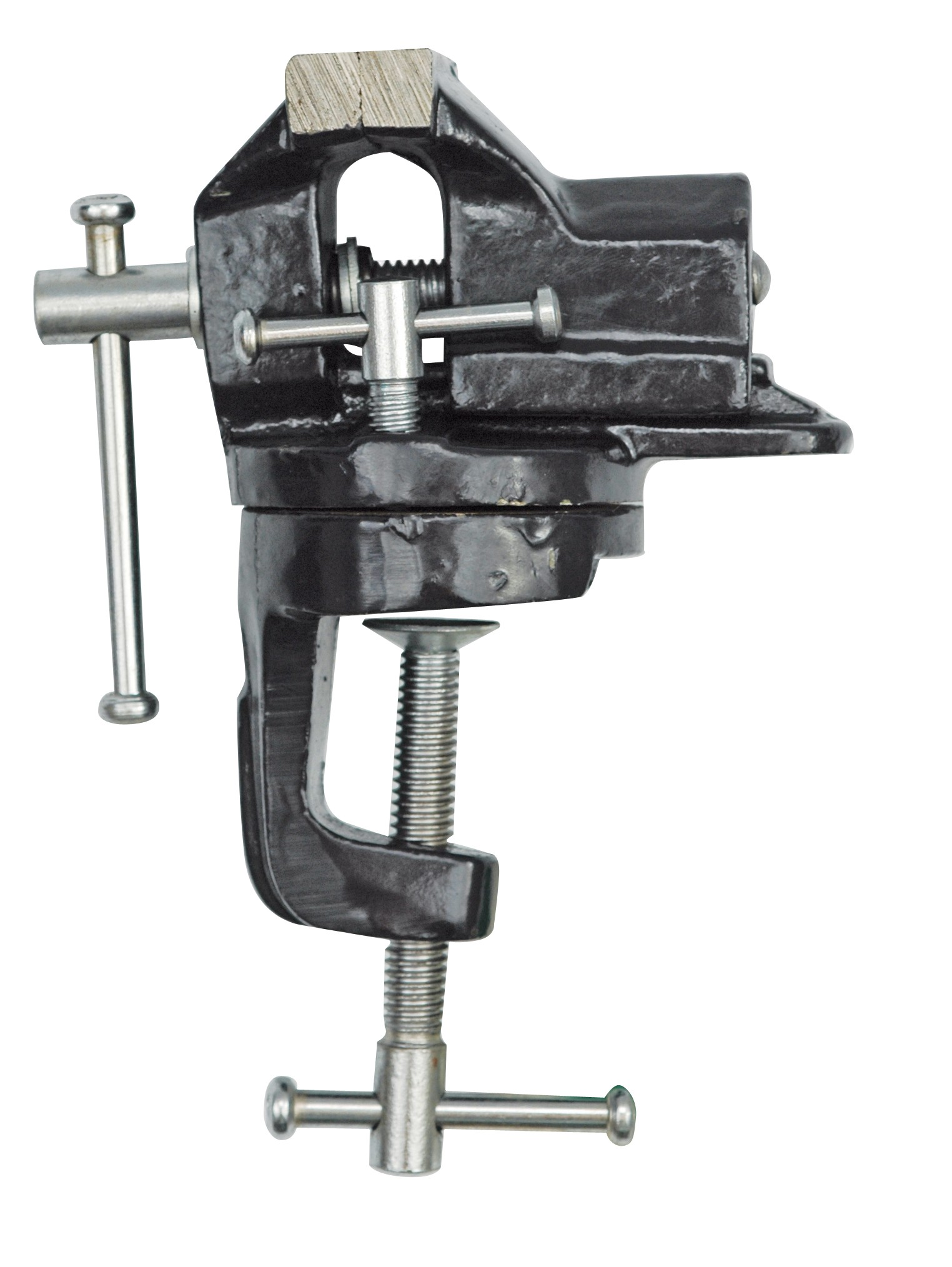 Svěrák stolní 50 mm otočný