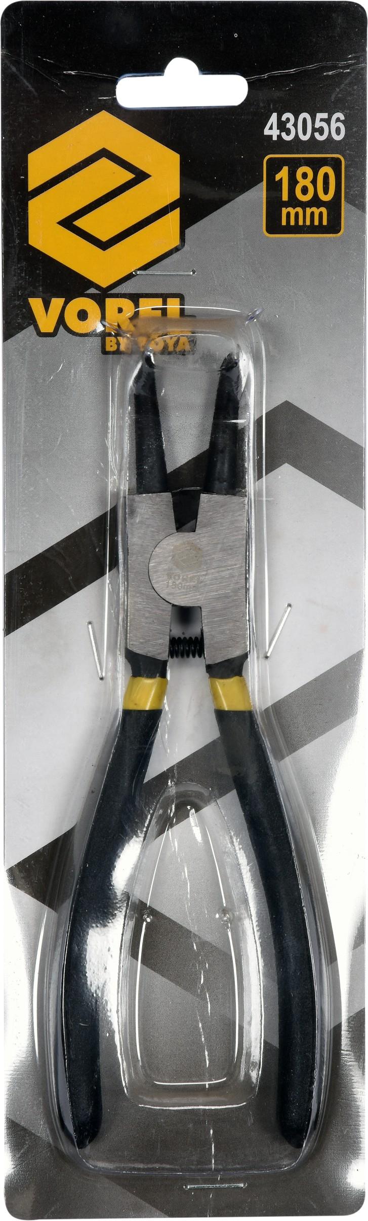 Kleště na ségrovky 180 mm vnější ohnuté