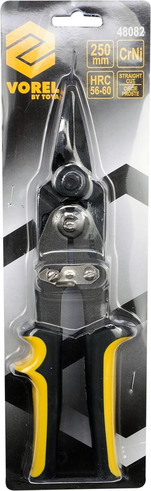Nůžky na plech 250 mm rovné CrNi