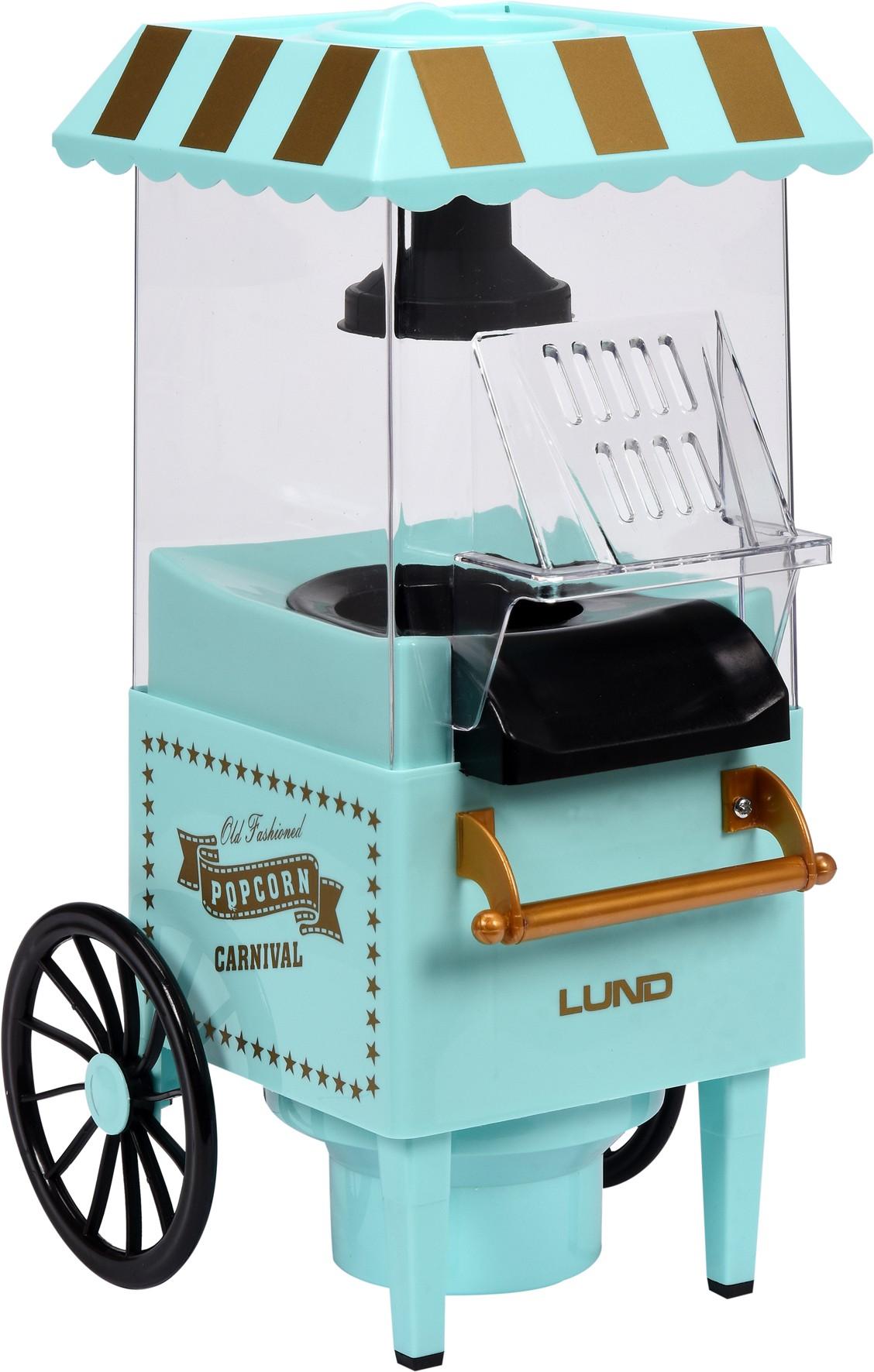 Stroj na popcorn - vozík 1200W