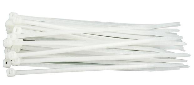 Páska stahovací  75 x 2,4 mm 100 ks bílá