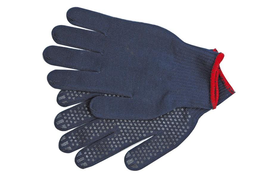 Rukavice pracovní bavlněné modré vel. 10