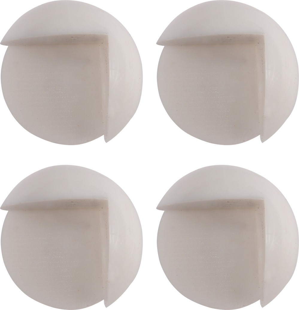 Chráníč na rohy nábytku, samolepící,  transparentní 4ks