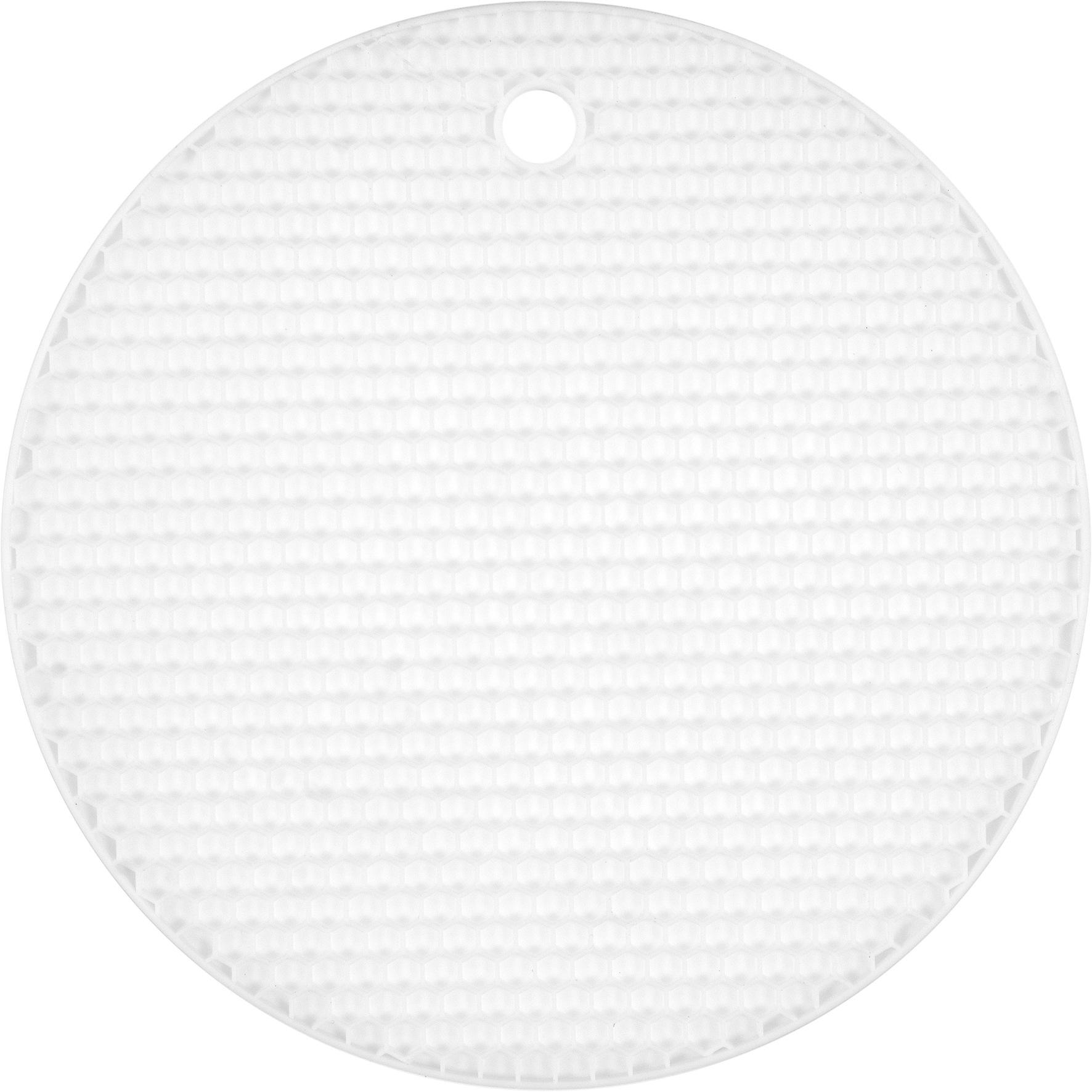 Podložka pod horkou konev silikonová bílá