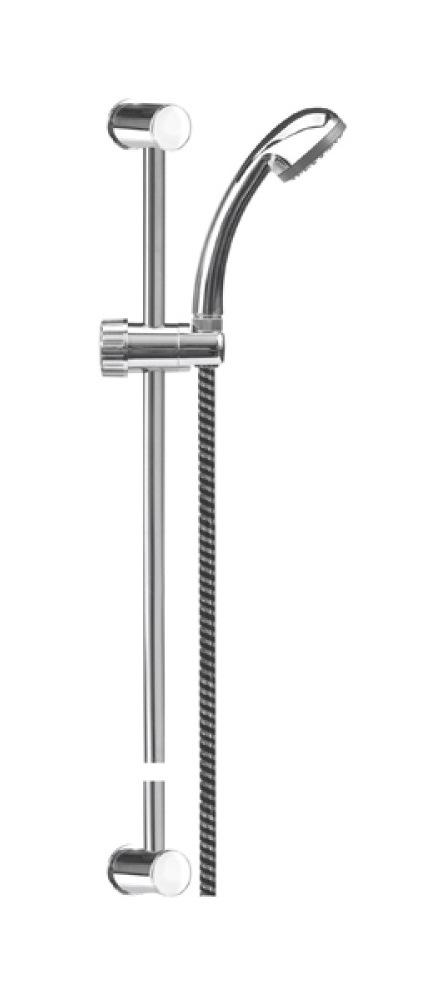Sprchový set s tyčí, hadice zebra FALA
