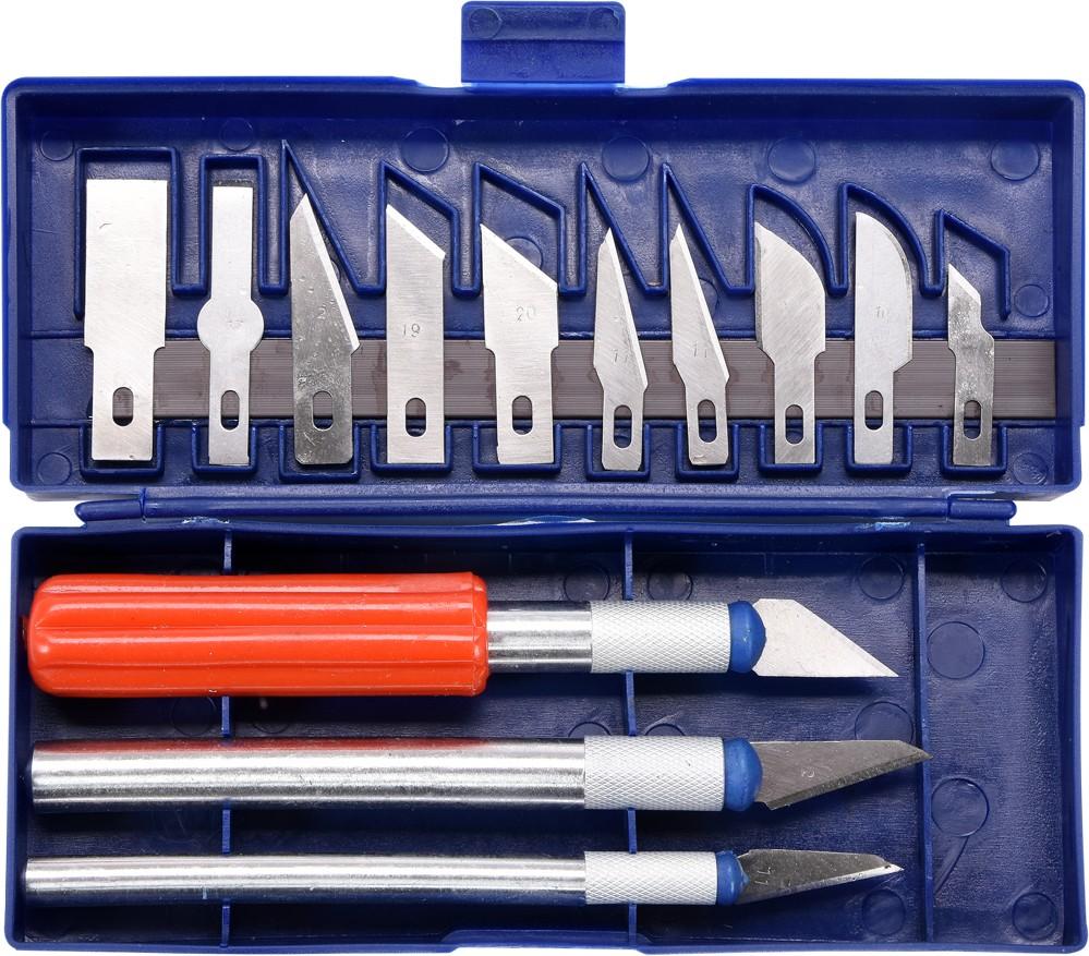 Sada nožů přesných s břity 16 ks
