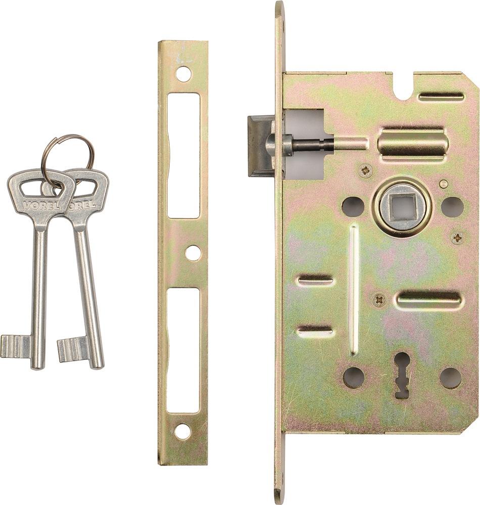 Vložka zápustná do dveří na klíč  60/50 mm L/P