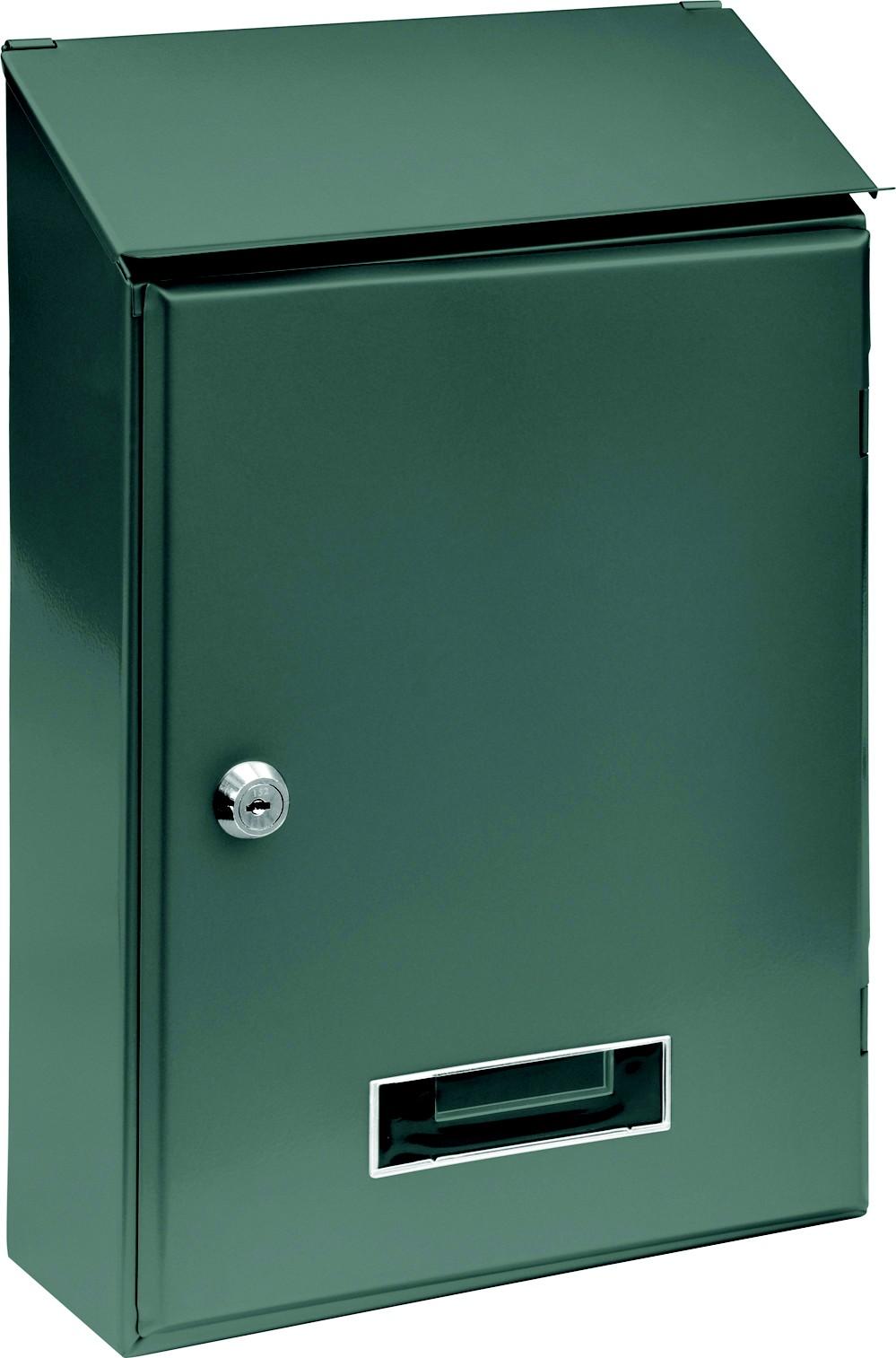 Poštovní schránka 360x230x90mm šedá