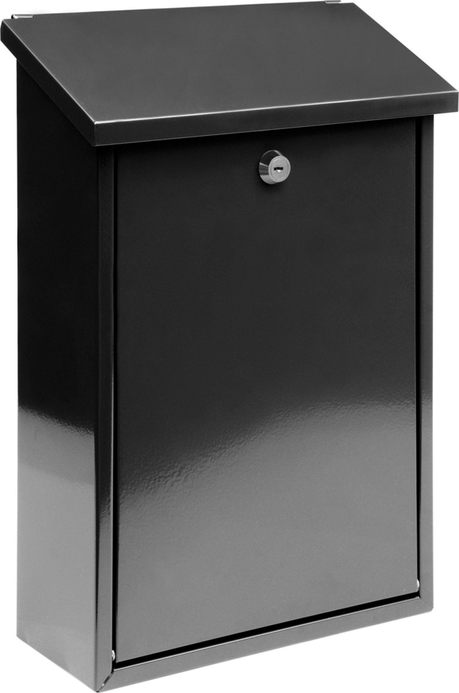Poštovní schránka 400x250x100mm černá